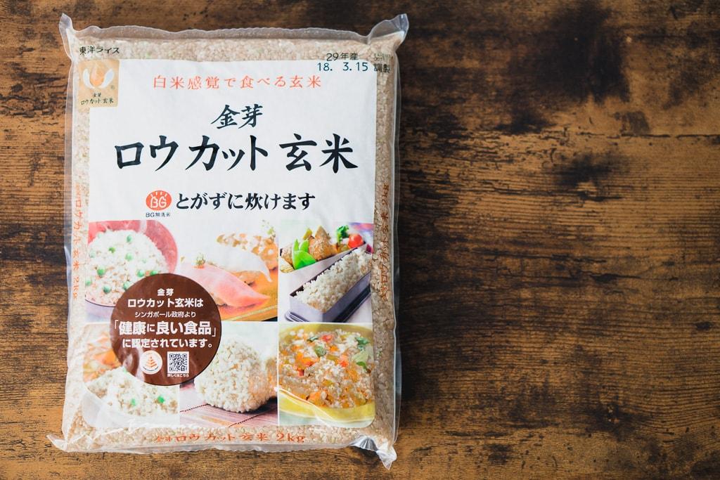 ロウカット玄米とは