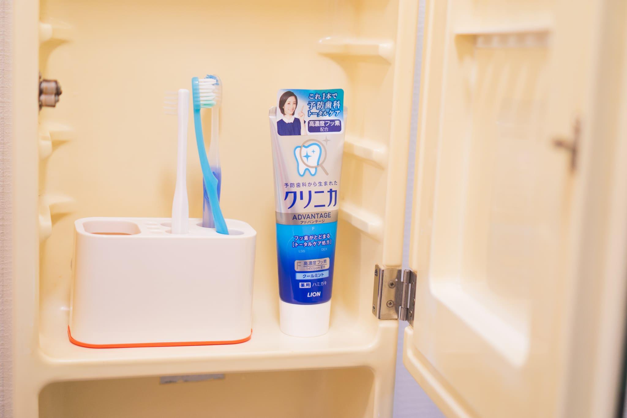 以前使っていた歯ブラシスタンド