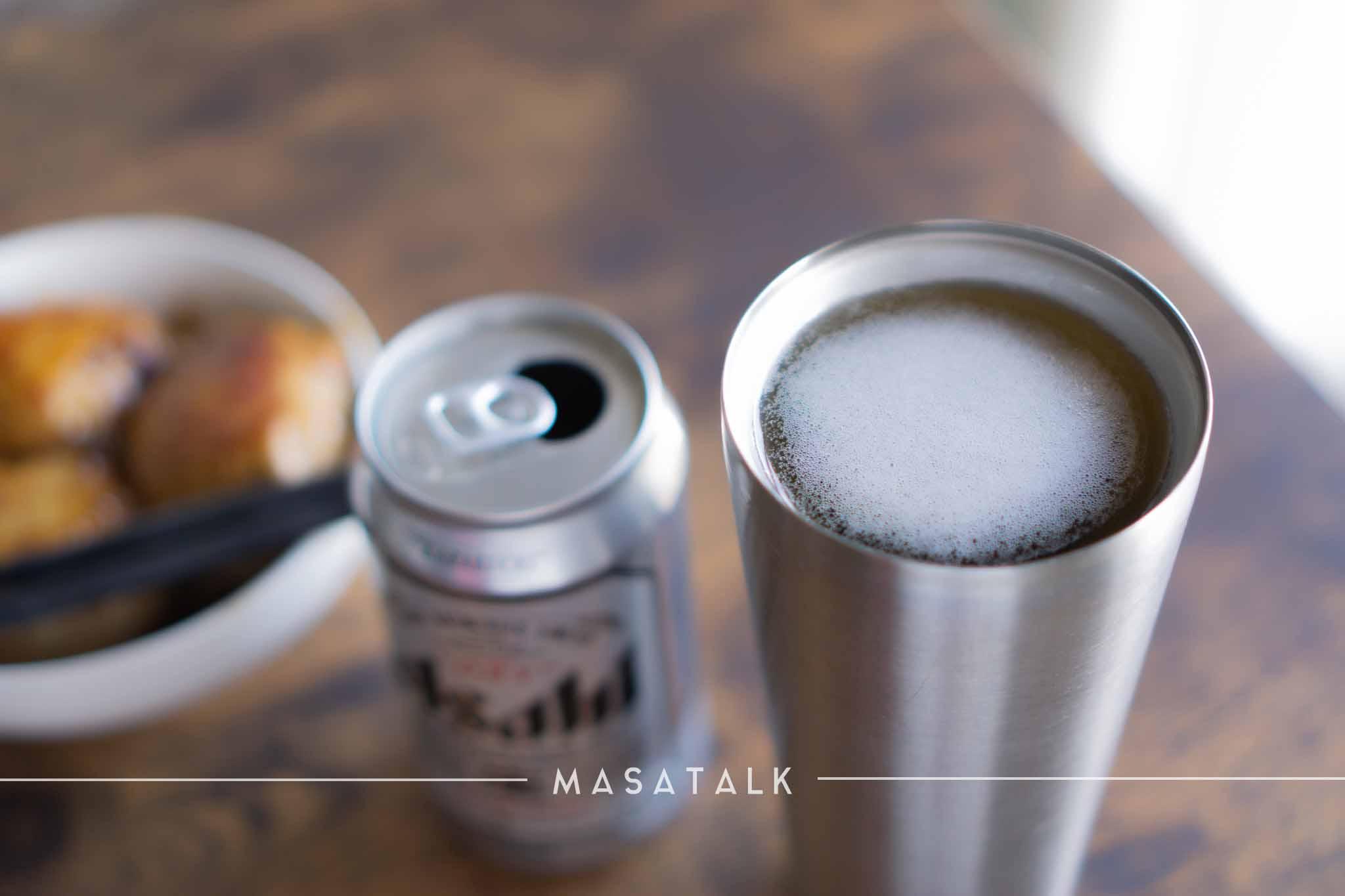 注ぐだけ!ビールをキンキンに冷やす「エクストラコールドタンブラー」