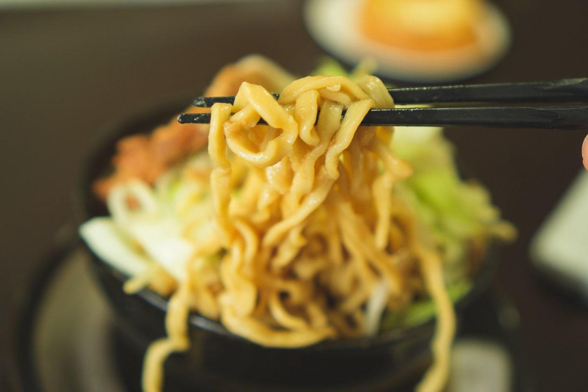 ワシワシの麺