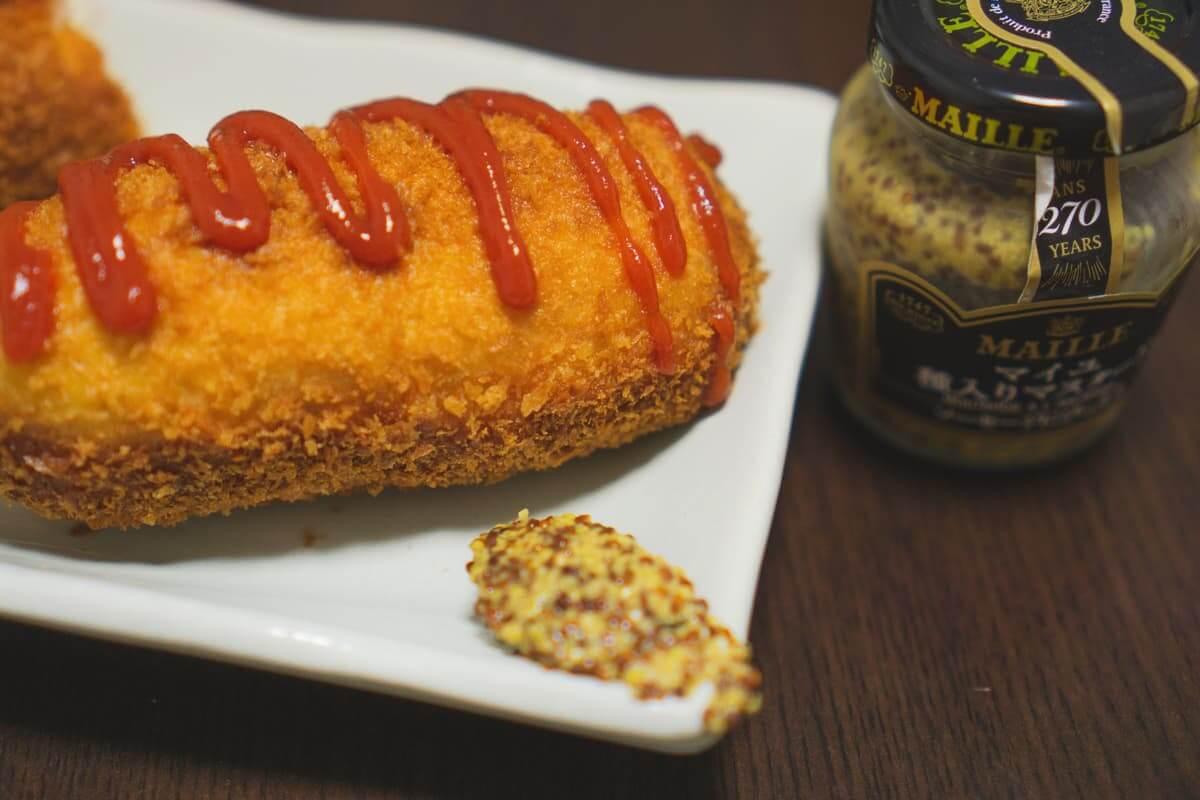 韓国のおやつ「ハットグ」完成!食べてみよう!
