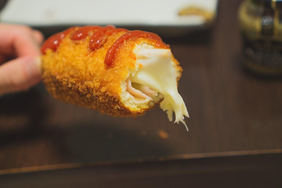 チーズうまーい!!