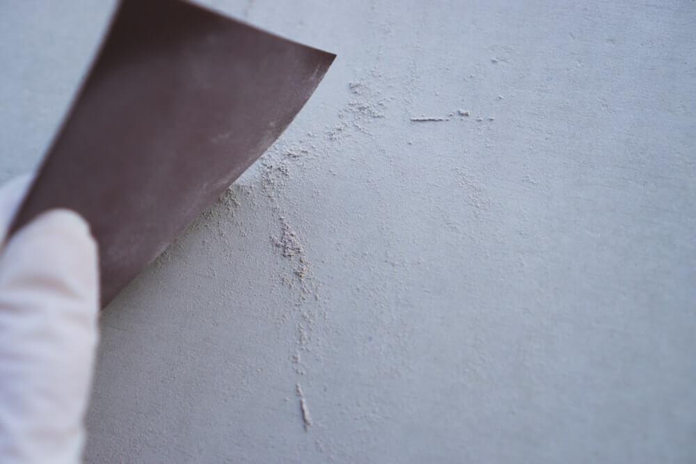 白い粉が出てくる