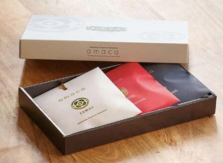 パッケージが可愛い甘納豆「3種のグラッセ」