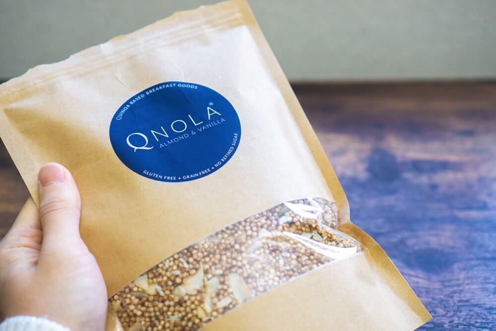 世界初!キヌアで出来たグラノーラ「クノーラ」