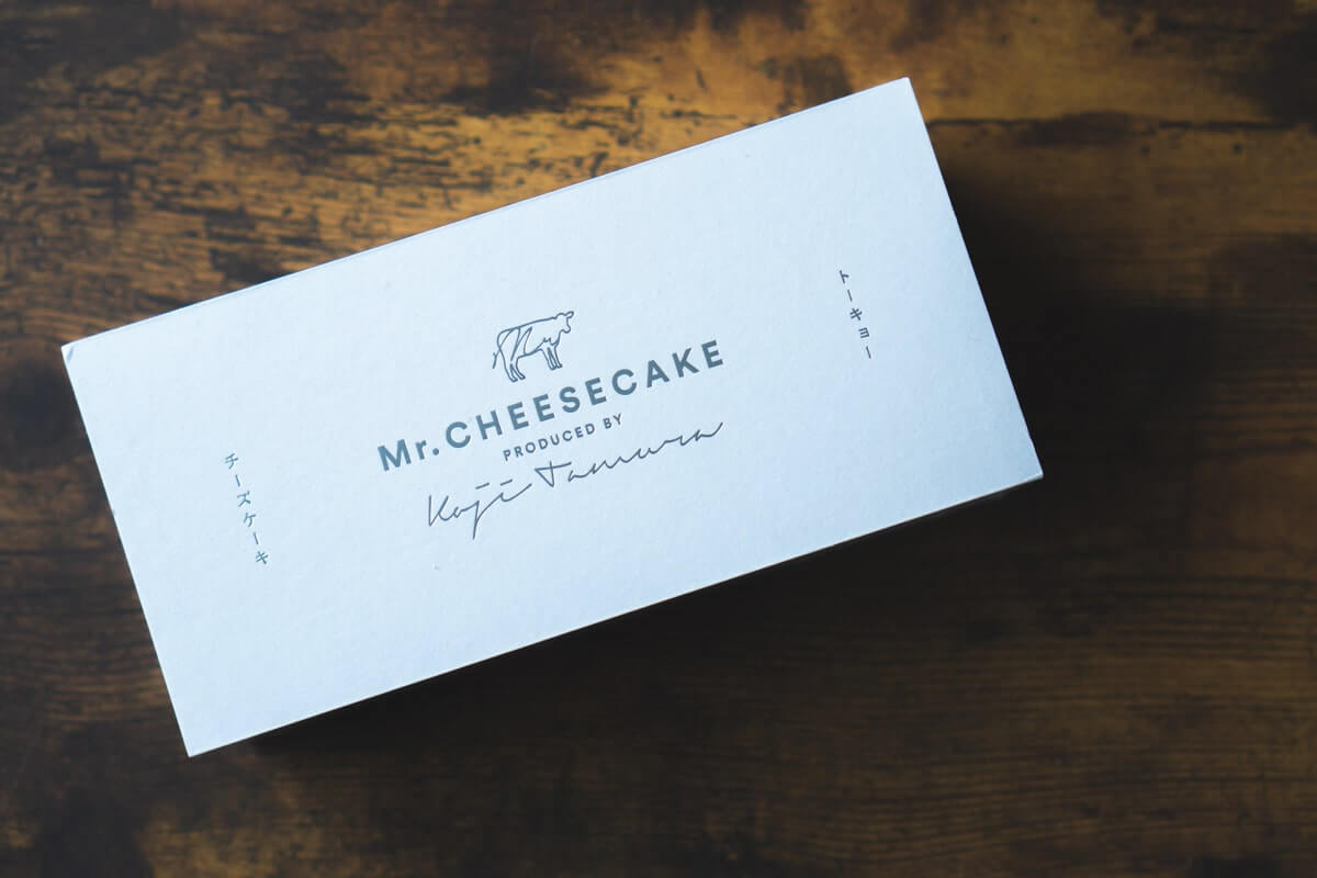 「Mr.CHEESECAKE」到着。