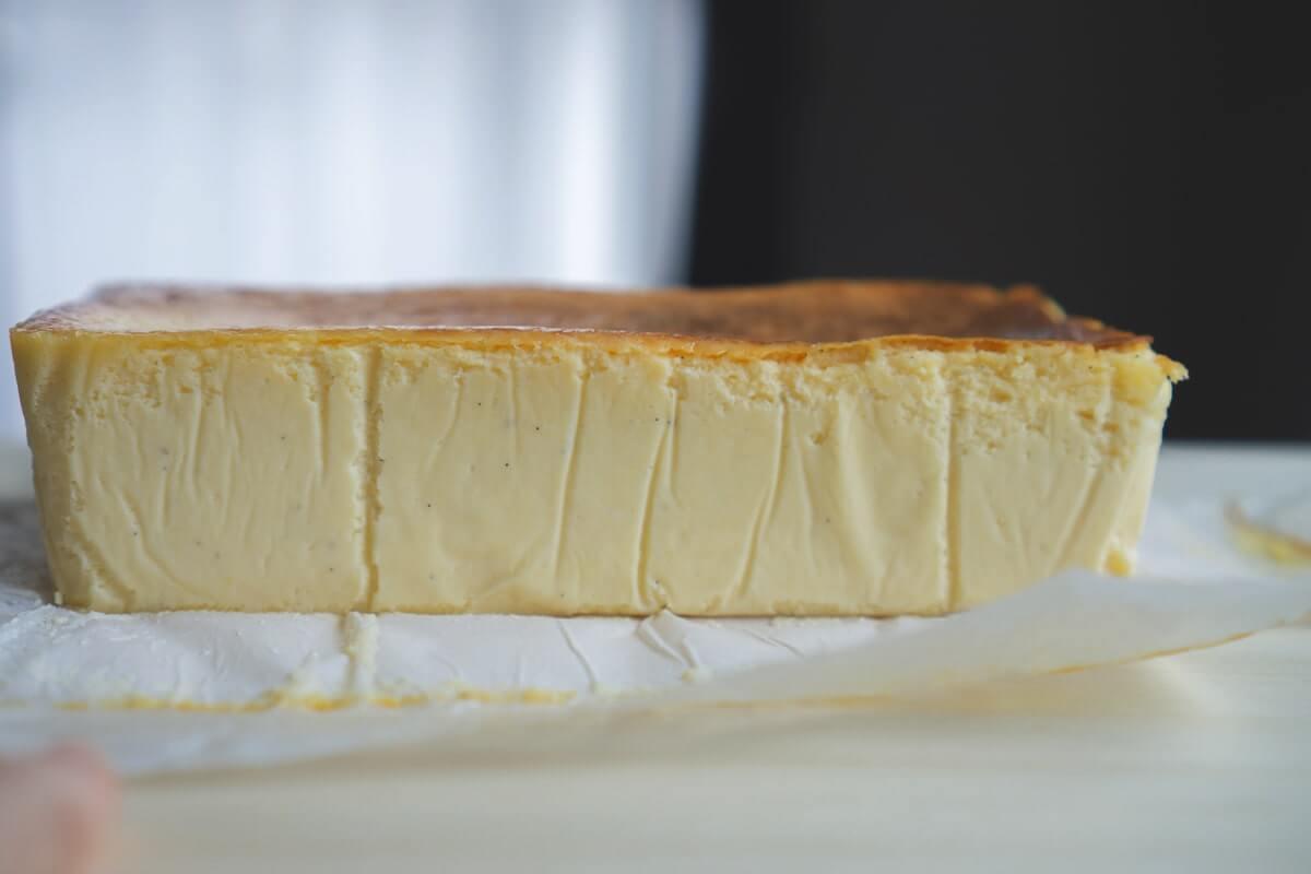 バターのようななめらかな側面
