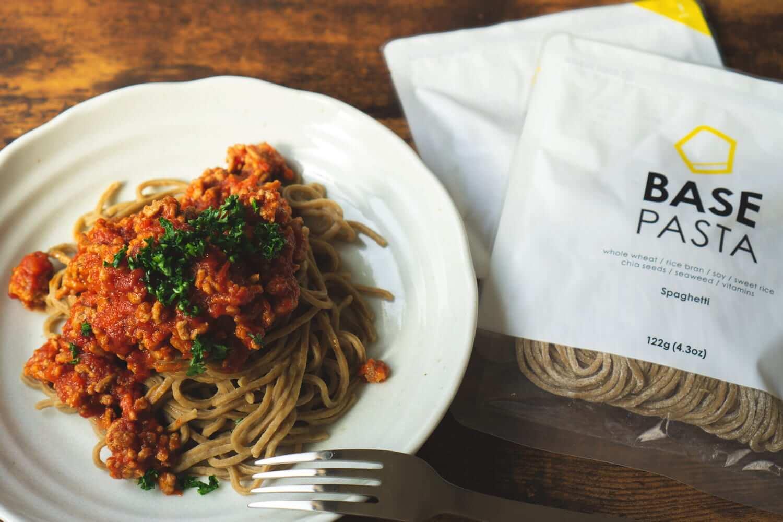 完全食「ベースパスタ」は便利で美味しい!