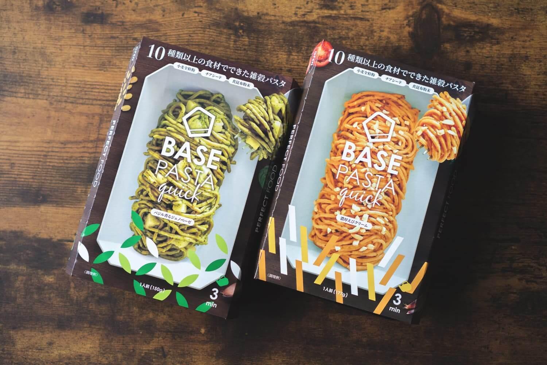 完全食カップ麺「ベースパスタ クイック」