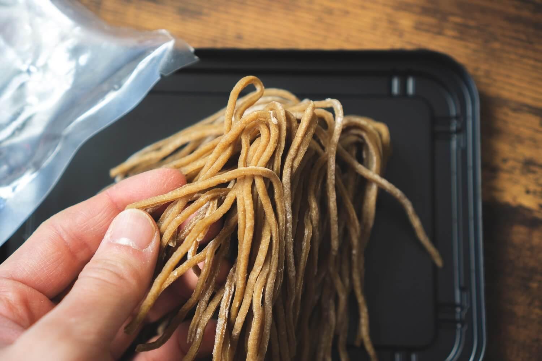 10種類以上の食材からできた雑穀麺
