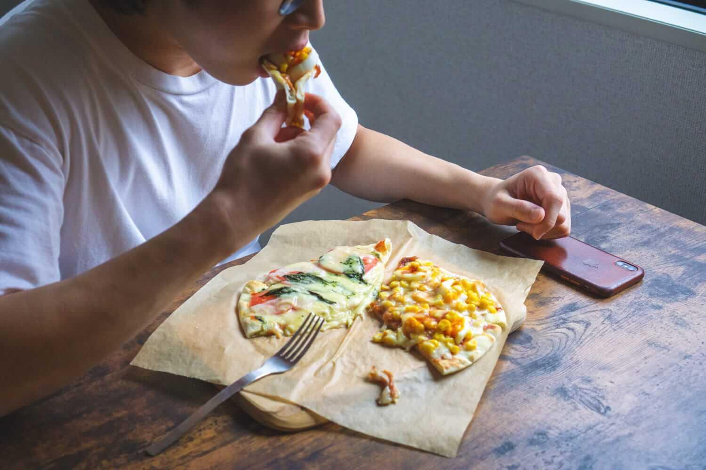 スーパーのピザを自分だけのオリジナルに!