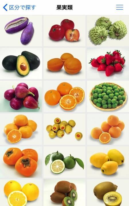 珍しい野菜や果物もあるので図鑑を見ているようで楽しい