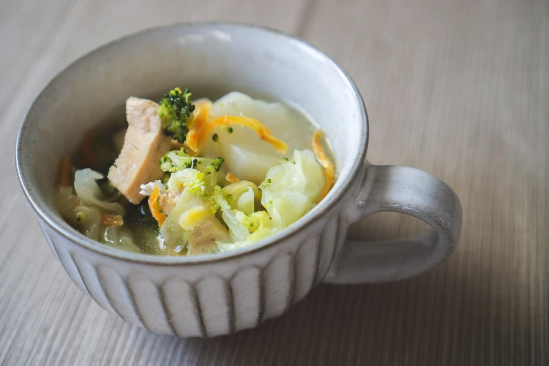 野菜スープ完成!