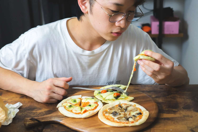 グルテンフリー米粉ピザ×3種類