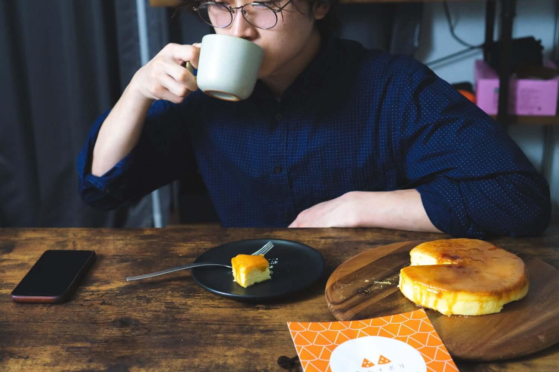 コーヒーや紅茶とぴったり。