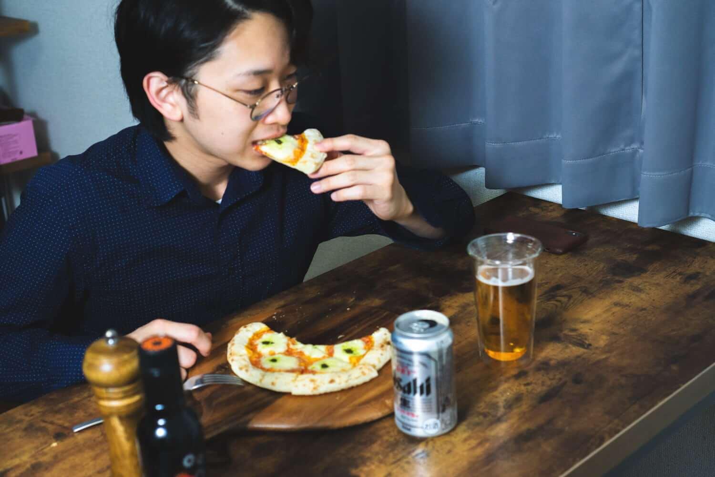 いただきまーす!森山ナポリのピザをいろいろ食べてみる