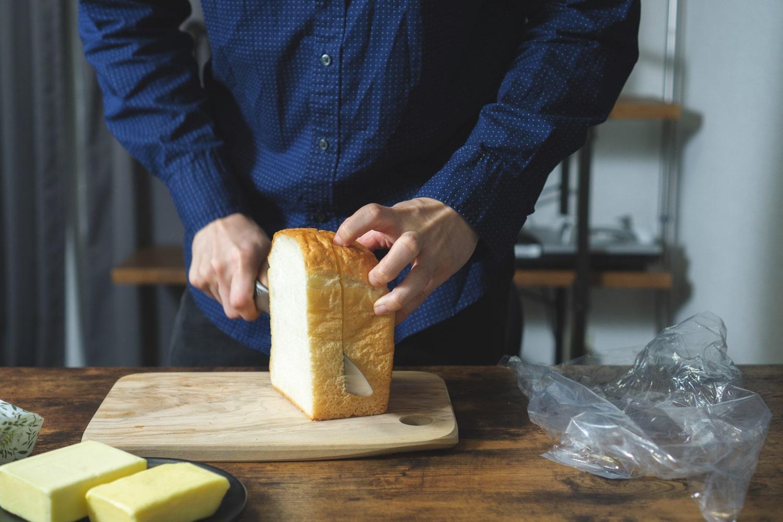 トーストした食パンにのせて食べてみました