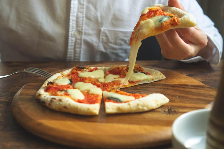 うんっ、これぞピザ。