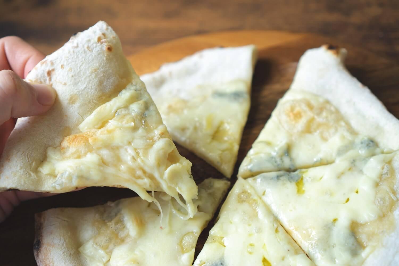 ブルーチーズ独特の香り。苦手な人もいるかもしれないけど、僕は好き