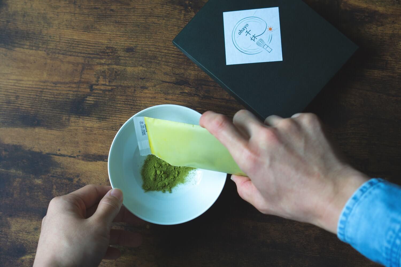 千休で抹茶ラテを作っていく!