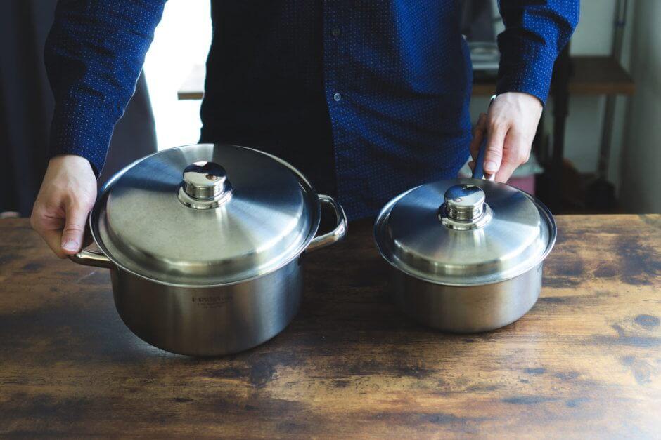 デザインも機能も一級品!ビタクラフトの「片手鍋・両手鍋」