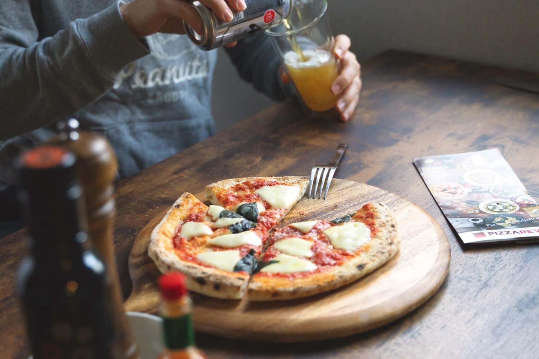 PIZZA RAVO(ピザレボ)冷凍ピザいただきまーす!