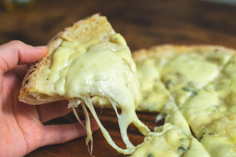 トロットロ。チーズたっぷり。