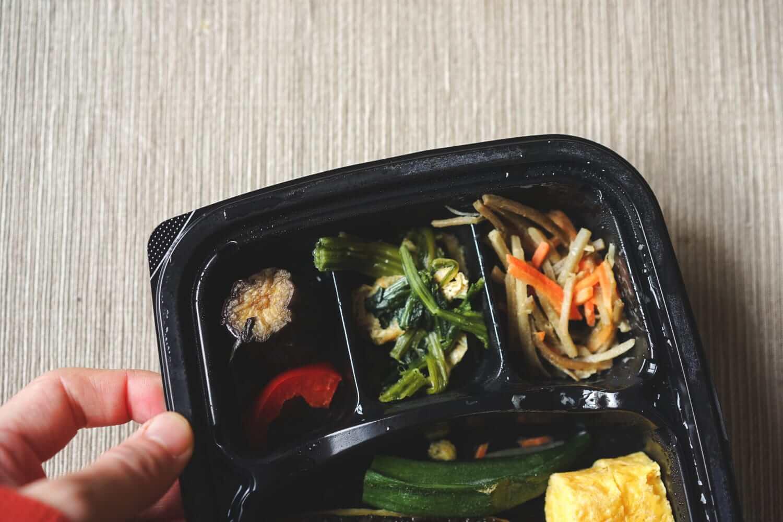 相変わらず副菜は美味しい。