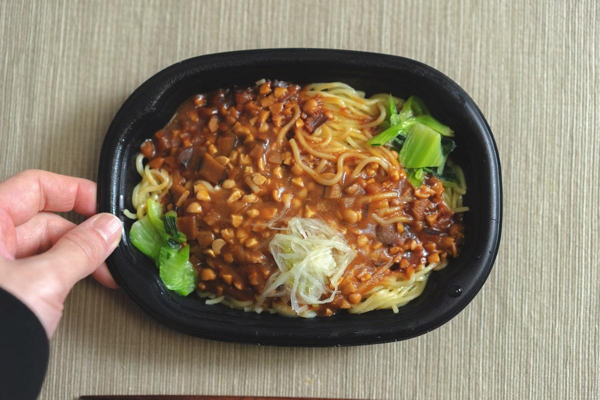たっぷり大豆のジャージャー麺