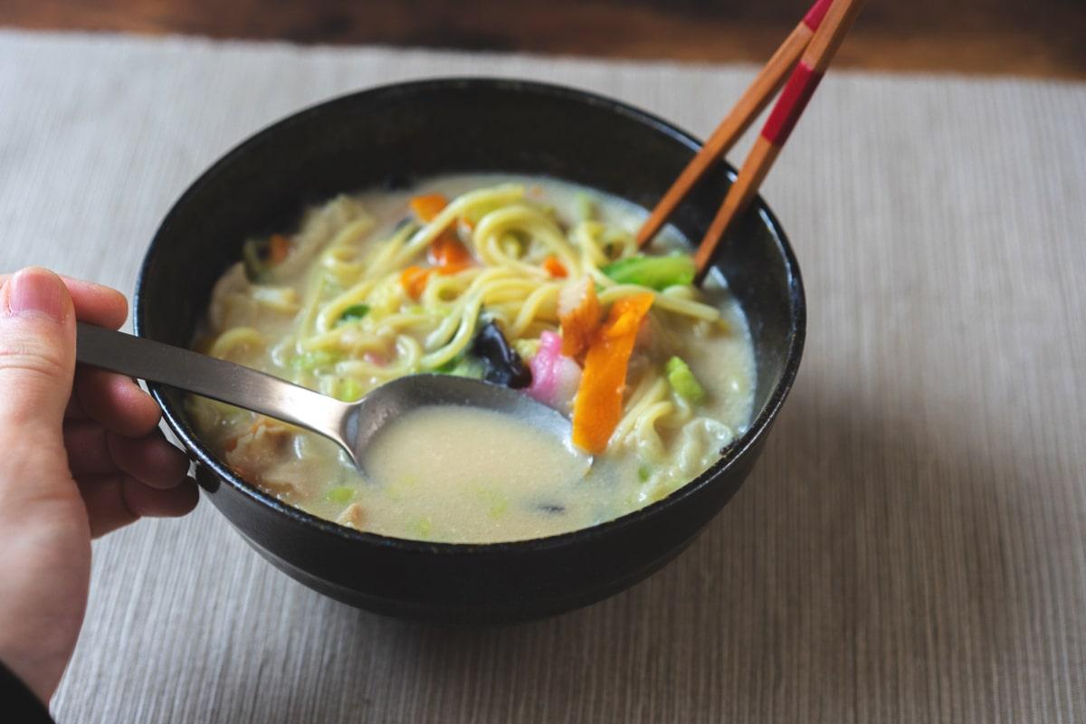 スープも美味しい