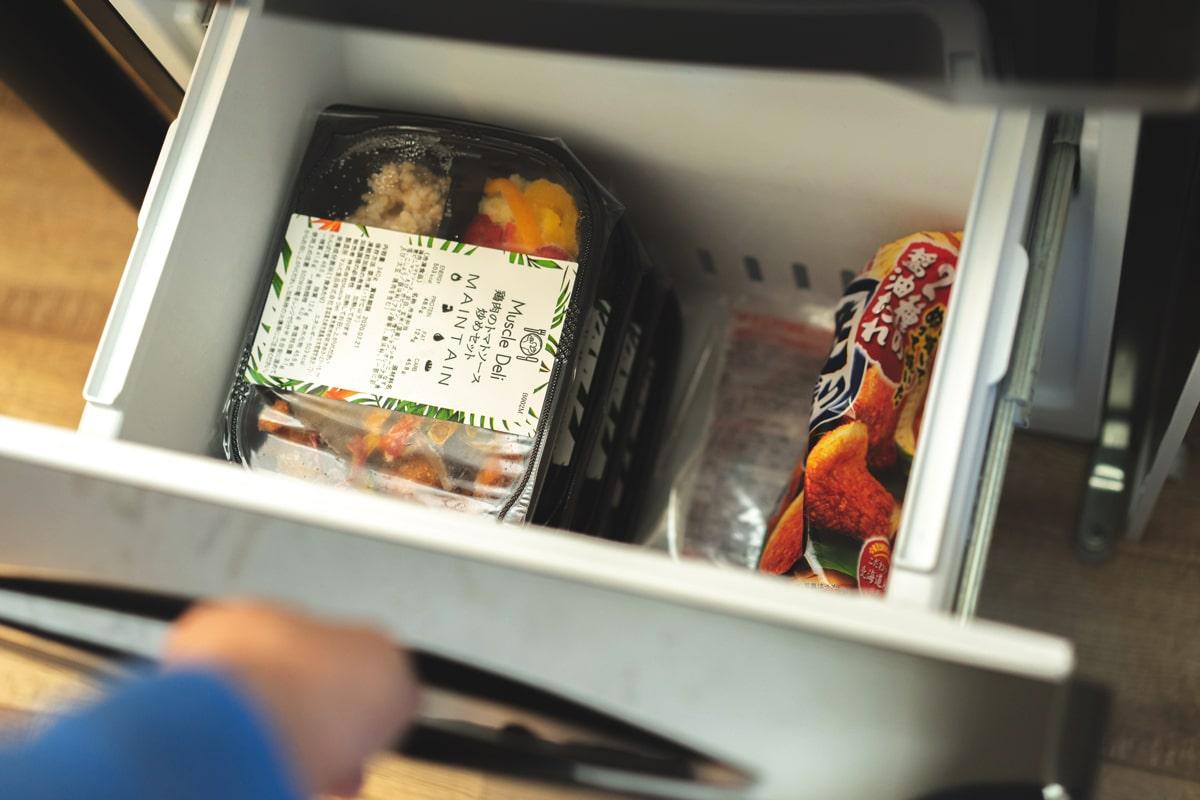 冷凍庫がいっぱいになる