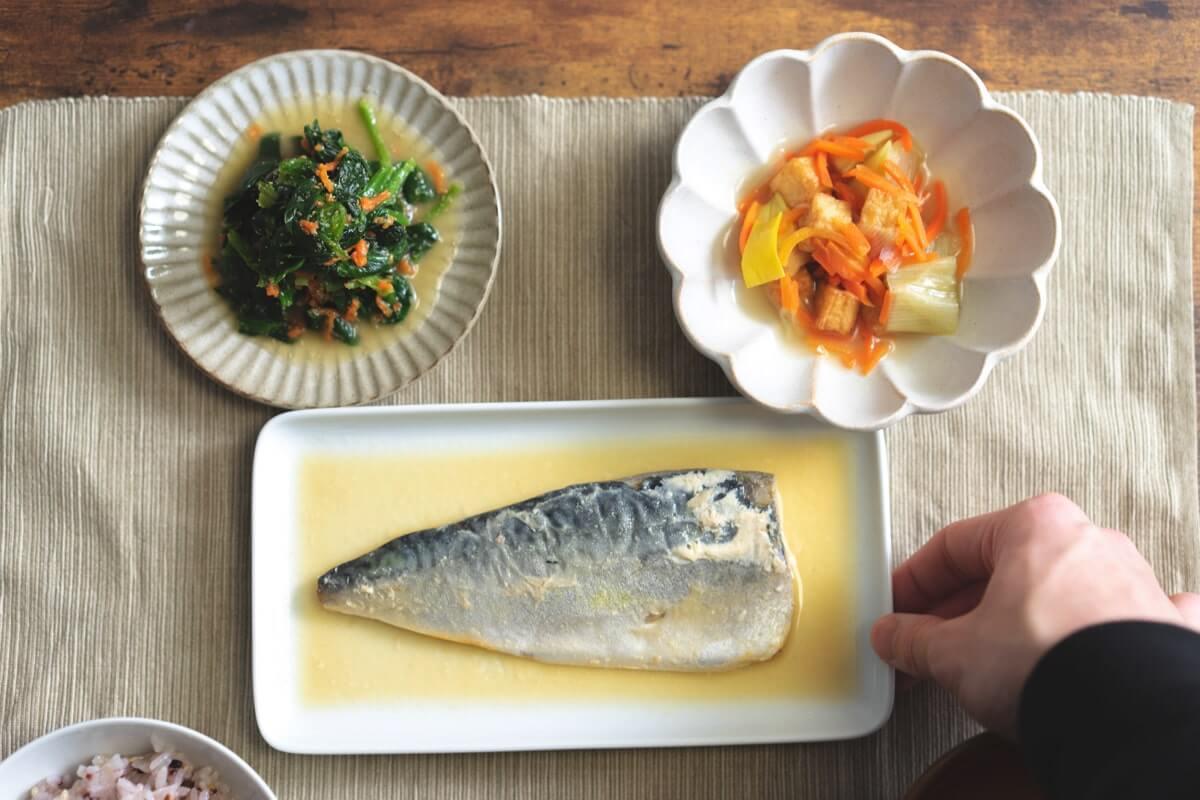 千葉県産さばの味噌煮セット(解凍)