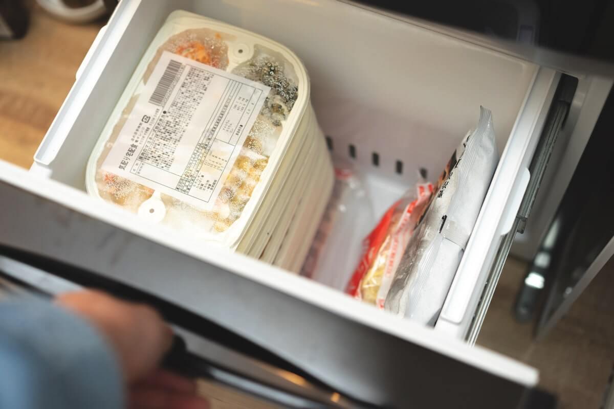 注文しすぎると冷凍庫がいっぱいに