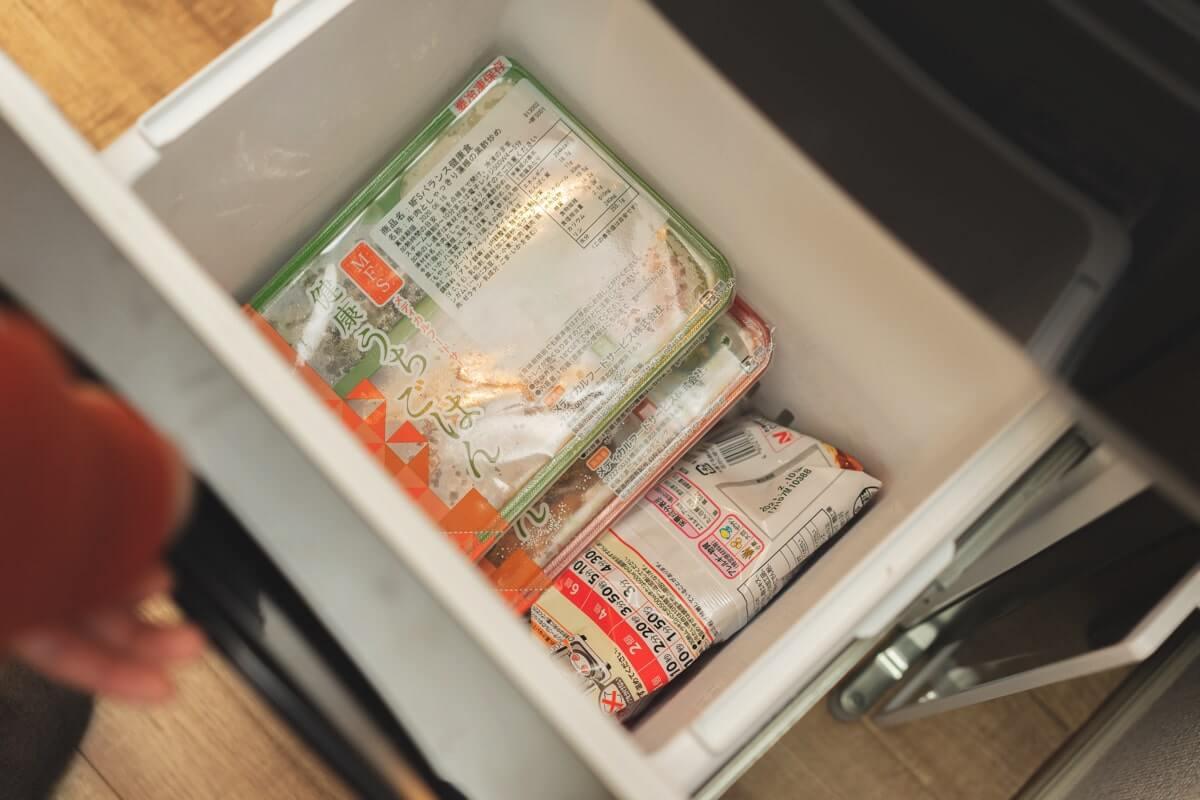 注文しすぎると冷凍庫がいっぱいになる