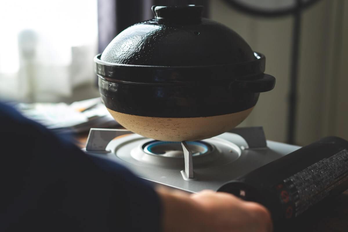トライスを炊く