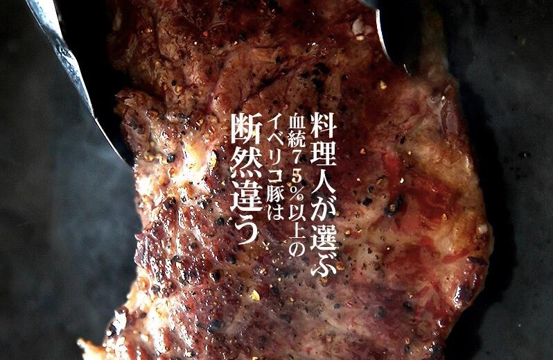 イベリコ豚の赤身カルビ・霜降り肉セット