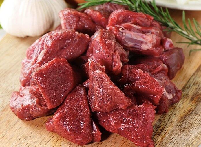 ミートガイ「牛ヒレ肉の切り落とし」